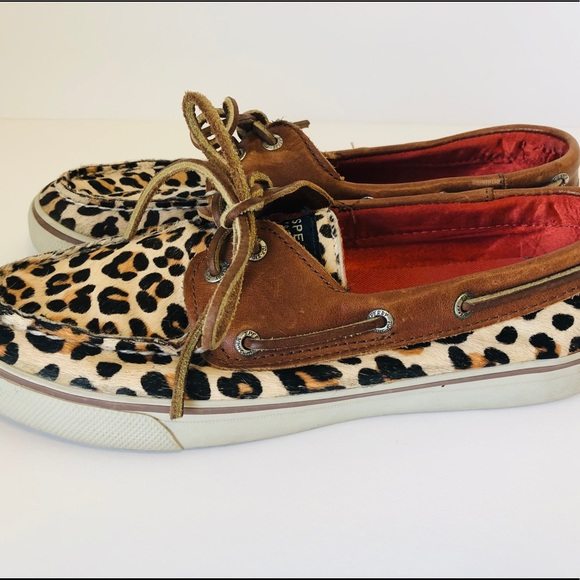 Sperry Top-Siders Leopard Print
